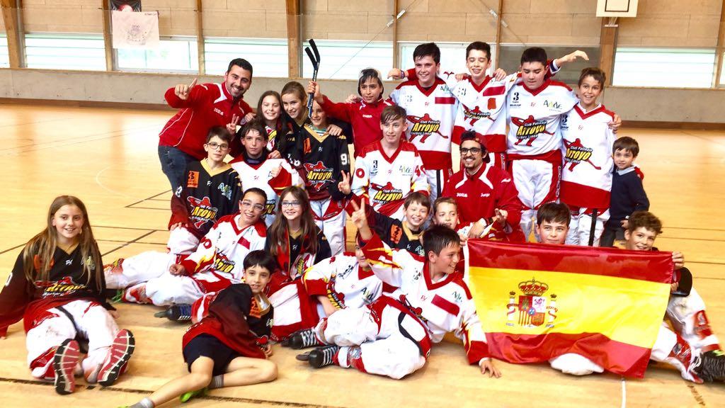 Hockey Arroyo - Campeones Valladolid Castilla y León