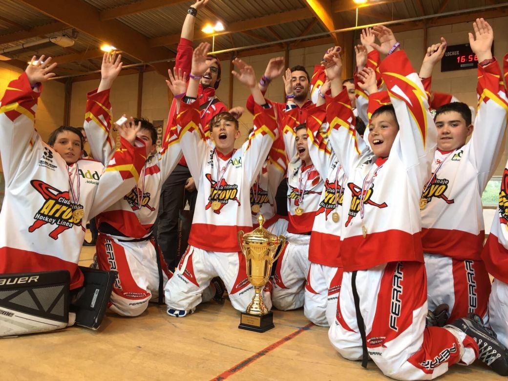 Hockey Arroyo - Campeones Pessac